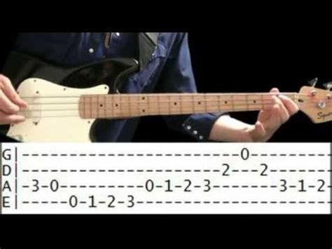 Bass Guitar Lesson   Waltz & Big Jazz Bass Tabs   YouTube
