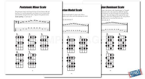 Bass Guitar Scales, Chords & Arpeggios PDF Download Book ...