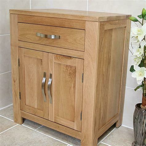Bathroom Furniture | Solid Oak Vanity Cabinet | Cupboard ...