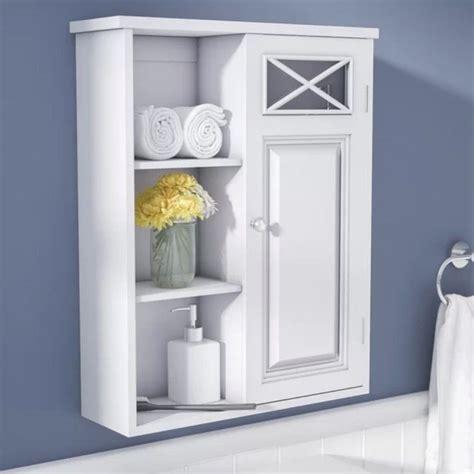 Bathroom Medicine Cabinet Wall Mount Storage Organizer ...