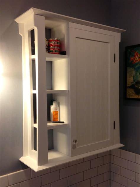 Bathroom wall cabinet   by Douglas @ LumberJocks.com ...