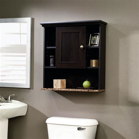 Bathroom Wall Cabinet with 3 Adjustable Shelves in ...