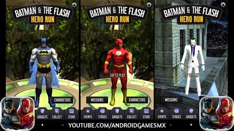 Batman & The Flash: Hero Run Para Android [NUEVO JUEGO ...
