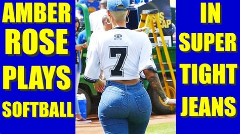 BATTER UP! AMBER ROSE SEXY JEANS CAM at JAVALE McGEE ...