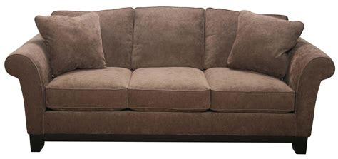 Bauhaus 33SMA Transitional Sofa with Exposed Wood Base ...