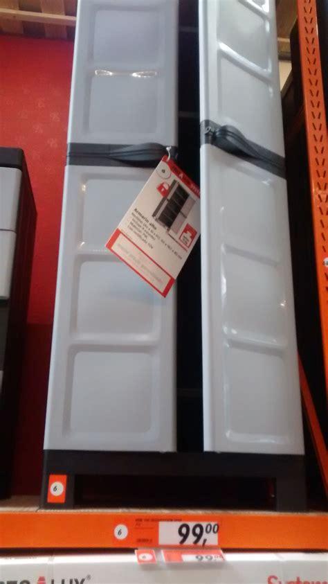Bauhaus. Armario de PVC 182x65x45. 99€. Pensando en tener ...