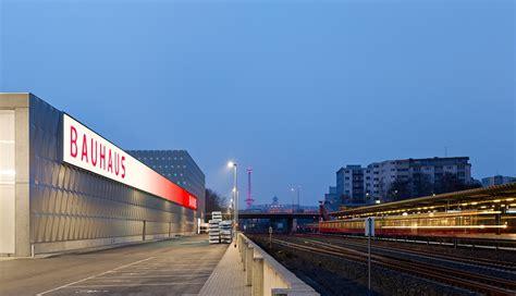 Bauhaus Halensee in Berlin | Fassade | Gewerbe/Industrie ...