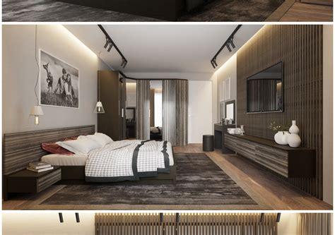 Bauhaus style bedroom | CGTrader