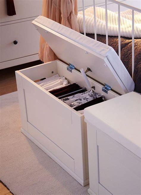 Baúl blanco para el dormitorio #almacenaje   Decoración de ...