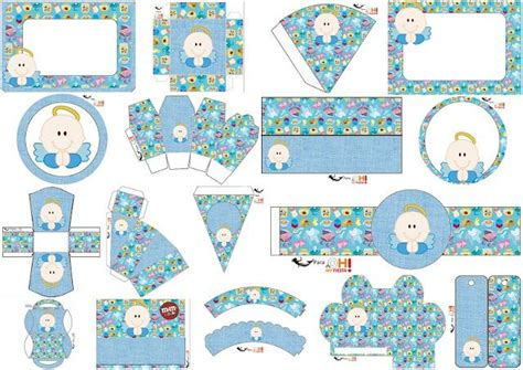 Bautismo o Primera Comunión de Niño: Kit para Imprimir ...
