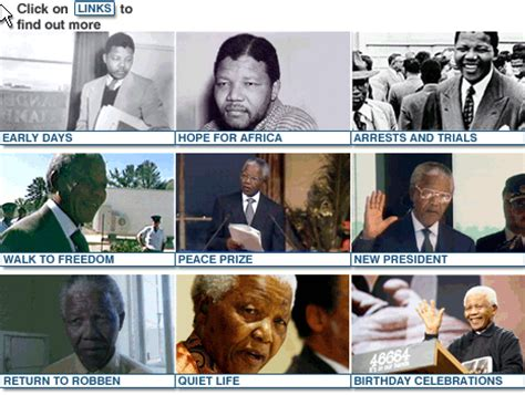 BBC NEWS | Special Reports | Timeline: The Nelson Mandela ...