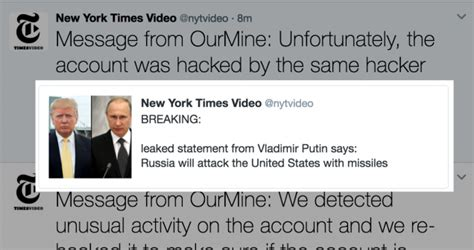 BBC, NYT Twitter accounts hacked; posts fake news about ...