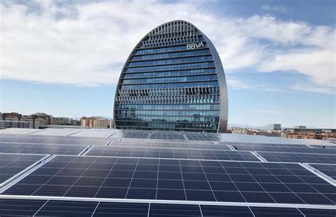 BBVA incrementa la sostenibilidad de su sede central de Madrid
