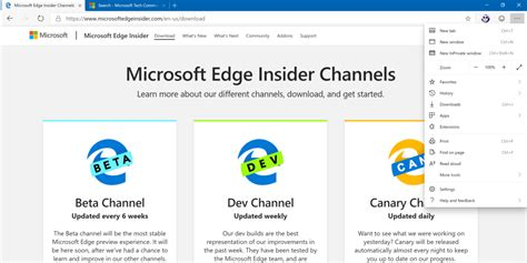 Be prepared the Chromium based Edge will be released in ...