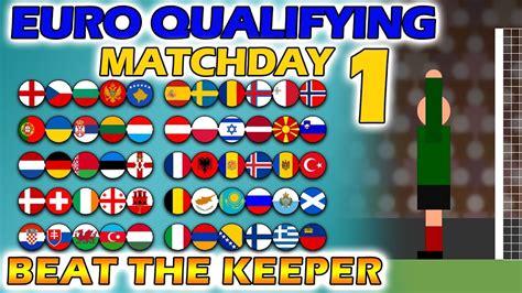 Beat The Keeper   UEFA Euro 2020 Qualifying Matchday 1 ...