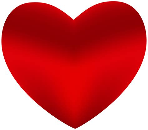 Beautiful Red Heart PNG Clipart   Best WEB Clipart
