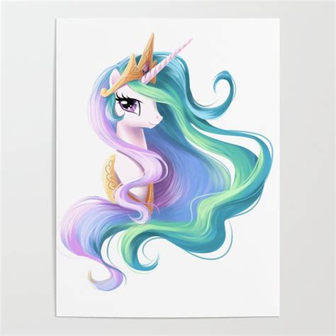 Beautiful unicorn drawing Poster by gomeans | Society6