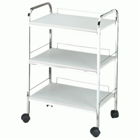 Beauty Trolley H 2703 Three Shelf, White for Sale at the ...