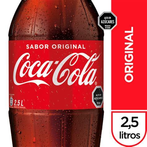 Bebida Coca Cola Original Botella 2.5Lt en Tottus Ñuñoa