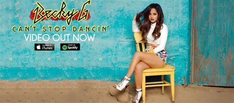 """Becky G premieres """"Can't Stop Dancin'""""  Official Music ..."""