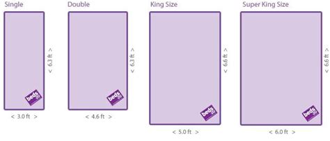Bed: King Size Bed Dimensions