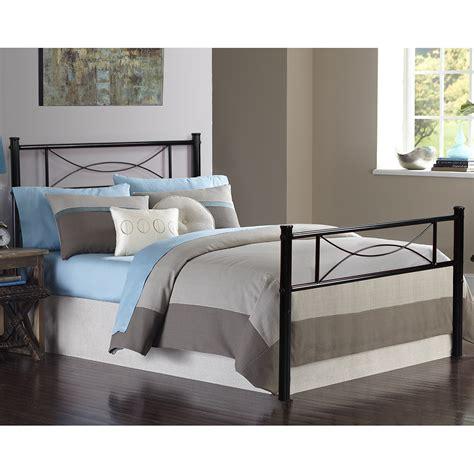 Bedroom Metal Bed Frame Platform Mattress Foundation ...