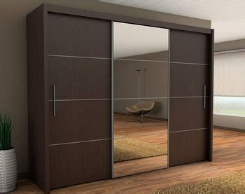 Bedroom Wall Wardrobe Design Wardrobe Cabinet With Mirror ...