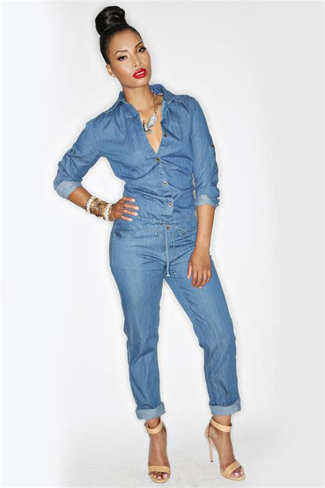 Bee Lite Denim Jumper More | Fashion, Denim jumpsuit ...