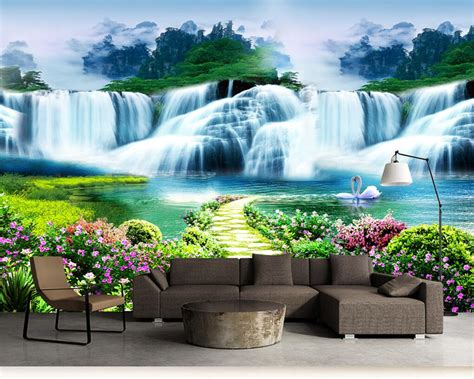 Beibehang Photo wallpaper for walls 3 d Flowers Trees ...