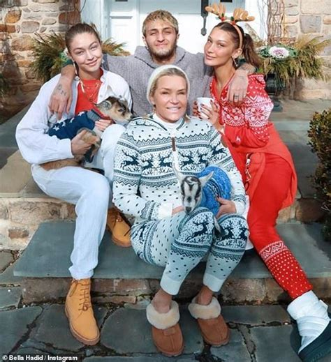 Bella Hadid shares a sweet family Christmas photo with ...