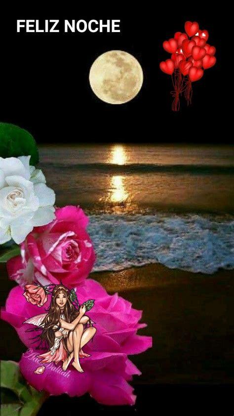 Bello paisaje nocturno   Saludos de buenas noches, Buenas ...