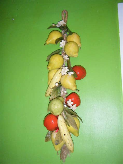 Bello Y Colorido Adorno Colgante De Frutas Para Tu Cocina ...