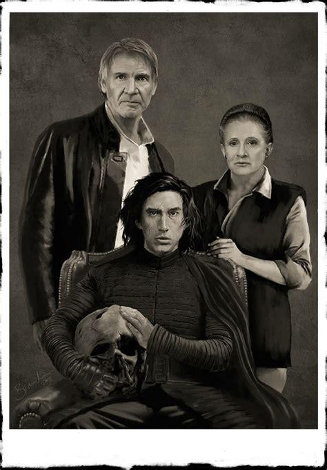 Ben Solo son of Han Solo and Leia Organa  Princess Leia ...