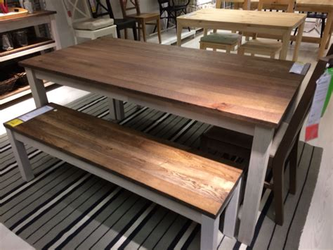 Bench and kitchen table   IKEA Kejsarkrona | My First Home ...