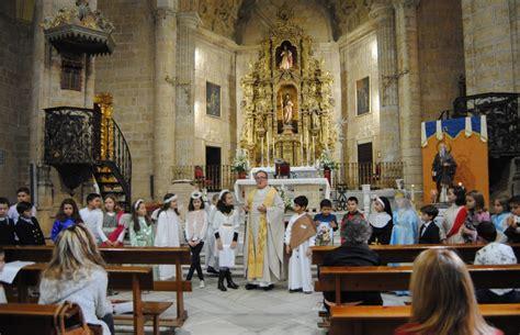 Bendición de la imagen de San Antonio Abad en la parroquia ...