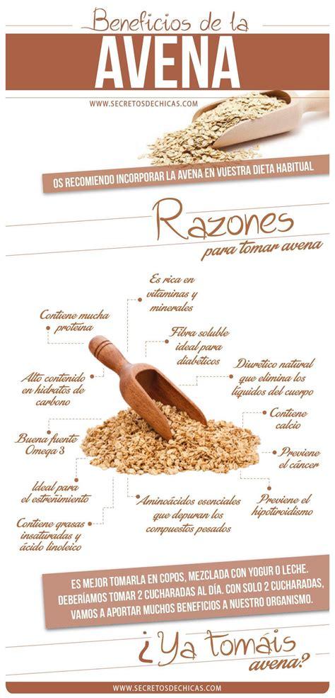 Beneficios avena #Nutrición y #Salud YG ...