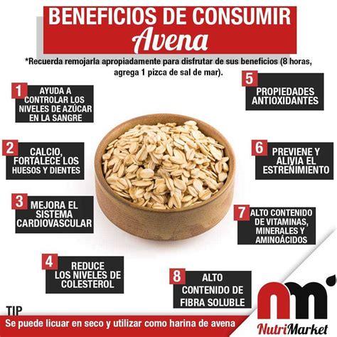 Beneficios de consumir Avena   Blog Nutrimarket