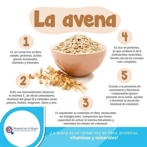 Beneficios de la avena   Beneficios de alimentos ...