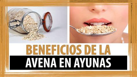 BENEFICIOS DE LA AVENA EN AYUNAS   PARA QUE SIRVE LA AVENA ...