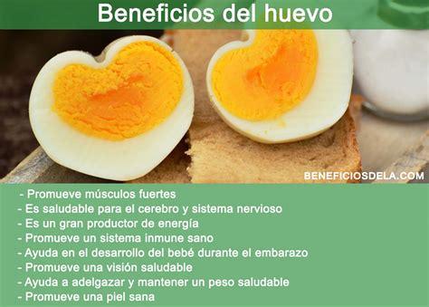 Beneficios del huevo, su valor nutricional y recomendaciones
