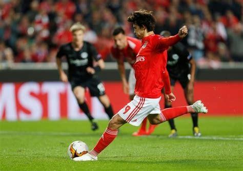 Benfica teenager Joao Felix nets treble in 4 2 Eintracht ...