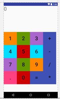 Bengali calculator Android studio   Stack Overflow