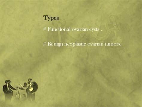 Benign ovarian tumors