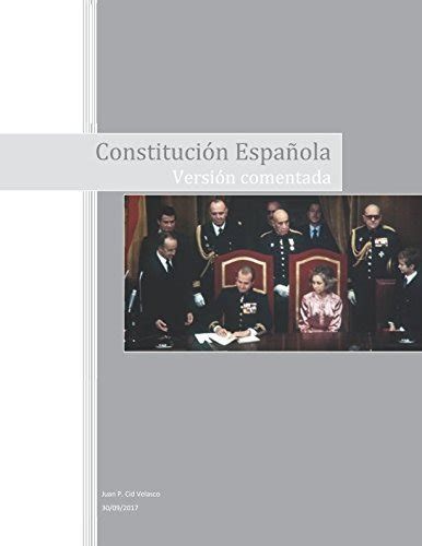 Benssometun: Constitución Española: Versión comentada ...