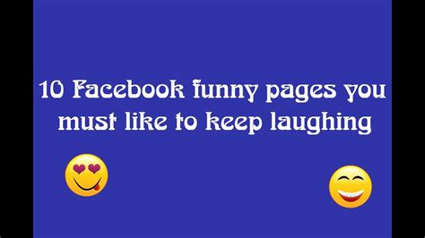 Best 10 Facebook Pages Funny, Troll, Jokes ...   YouTube