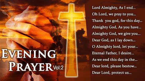 Best 12 Powerful Evening Prayers Vol: 2 | Evening Prayer ...
