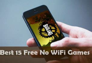 Best 14 Free Games Without WiFi or Internet Connection ...