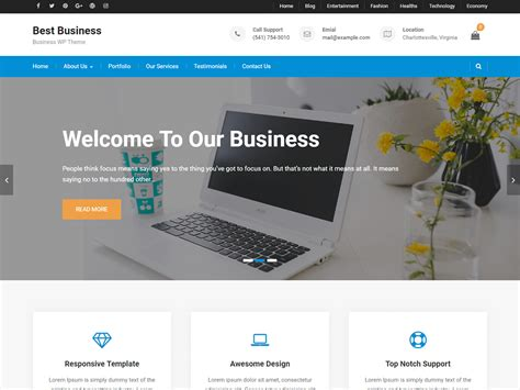 Best Business – WordPress theme | WordPress.org