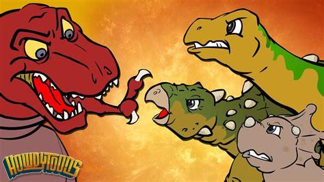 Best Dino Songs #1 | Dinosaur Battles and More Dinosaur ...