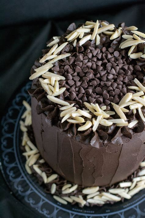 Best Ever Dark Chocolate Cake   What the Forks for Dinner?
